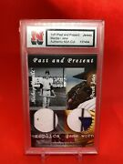 Mickey Mantle Derek Jeter Pandp Nsa Game Used 3-color Patch Jersey True 1/1 💎💎💎