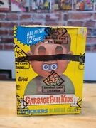 1987 Topps Gpk Garbage Pail Kids Wax Box 48 Packs Bbce Authenticated Series 12