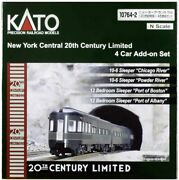 Kato 10-764-2 New York Central Railroad 20th Century Limited 4 Cars Add-on
