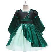 New Year Girl's Flower Princess Dresses Fancy Costume Party Gown Kids Dress Xmas