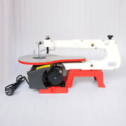 Pp 16electric Variable Speed Wood Tool Jig Scroll Saw 45° Tilt Cast Iron Base