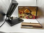 Ttm Swiss Raclette For Half Cheese Wheel Iron Lamp Vintage Knife Party Fondue