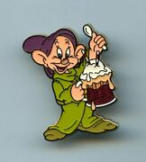 Dsf Disney Pin Trader Delight Ptd Snow White Dopey Root Beer Float Gwp Le 300