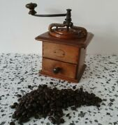 Peugeot Freres 1920and039s Coffee Grinder Wood Body France