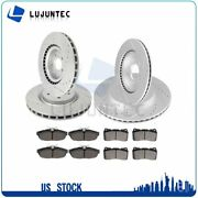 Brake Ceramic Pads And Rotors Front And Rear For 2011 2012 2013 2014 Ford Mustang