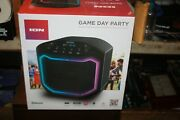 Ion Game Day Party 50w Bluetooth Rechargeable Led Speaker System Water Resistant