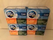 Alka-seltzer Plus Cold Day/night Effervescent 20 Pain Fever Cough Sinus Lot 4