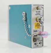 Tektronix Sd-46 Dc - 20 Ghz Optical To Electrical Converter Head Look Ref G