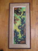 Naomi Lorne Abstract Expressionist New York School Oil Painting Jungle Listed