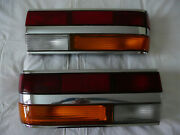 Bmw 5 Series E28 1366770r1366769l Rear Right And Left Chrome Tail Light