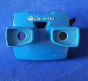 Rare Blue W/black Advance Lever Model J Or 10 Gaf View-master 3d Stereo Viewer