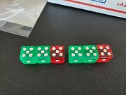 See Video Free Samlple Crooked Gambling Collectible Trick Dice Clear 16mm