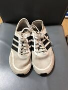 Adidas Ortholite Grey Running Walking Trainers Women Size 4 Good Condition P570