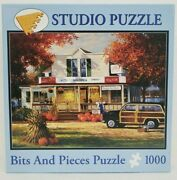 Bits And Pieces Jigsaw Puzzle 1000 Pc George Kovach Wilsonand039s On The Lake Age 13+