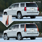 Vland Escalade Style Led Clear Taillights For 2015-2020 Chevrolet Tahoe