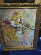 Fanmade Original Tales Of Xillia Milla Maxwell Artwork Art Wall Piece With Frame