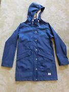 175 Womens Madewell X Penfield Collab Navy Jacket Small H7773 Penfield