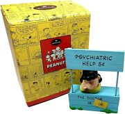 Peanuts Gallery Lucy Mood Booth Numbered The Doctor Is In 2000 Limited Edition