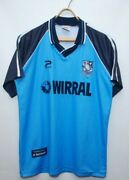 Tranmere Rovers 1998 2000 Away Football Shirt Soccer Jersey Size 38/40
