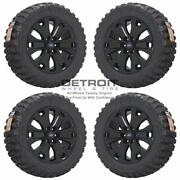 20 Ford F150 Gloss Black Wheels Rims And Tires Oem Set 4 2015-2019 10065