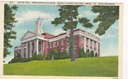Emory,va, Wiley Hall, Administration Building Of Emory And Henry College, C 1940s