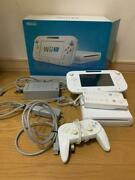 Wii U Basic Nintendo Console Gamepad Stand Charger Set Working Japan
