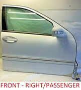 Mercedes Benz C-class 2002 Front Door Shell Assembly Right Passenger Side Used