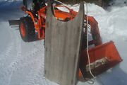 Antique Or Vintage Large Work Sled - Block Ice Etc. Northern Michigan History