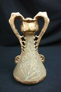Amphora Two-handled Ornately Decorated Paul Dachsel Design