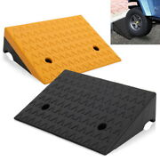 5 Rubber Loading Dock Rubber Curb Ramps 6800lbs Car Ramp
