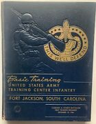 1958 U.s. Army Basic Training School Yearbook, Co. A, December, Fort Jackson, Sc