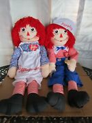 Applause Raggedy Ann And Andy 48 Dancing Dolls Nwt