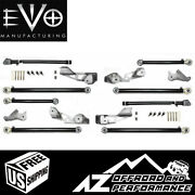 Evo Mfg High Clearance Long Arm Upgrade For And03918-current Jeep Wrangler Jlu 4 Door
