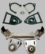 1949-1954 Chevy Car Mustang Ii 2 Front Suspension Crossmember + Tubular A-arms