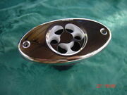 Sea Ray Whaler Flush Boat Dual Horn Stainless Cover W New Screws 5 On Center