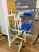 Cybex Vr1 Lower Back/back Extension W/chrome Plates Refurbished Free Shipping