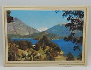Pan Am Vintage First Class Airline Menu Argentina-chile Bariloche In Lake Region