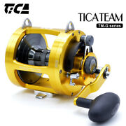Tica Team Boat Trolling Fishing Offshore Tuna Ocean Conventional Lever Drag Reel