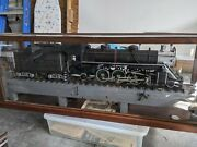 Antique Model Train A.c.l. 1675 Locomotive Custom Built By Engineer In 1940s
