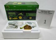 1/16 Precision 1 John Deere 110 Lawn And Garden Tractor W/cart By Ertl New In Box
