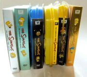 Lot Of 6 Dvd Box Set The Simpsons Season 1 2 6 7 9 10 Collectors Ed And Limited