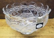 Waterford Crystal Footed Centerpiece Bowl Jim Oand039leary 2002 Signed