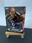 Dustin Poirier Signed Topps Ufc Knockout 2014 Trading Card
