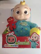 Cocomelon Musical Bedtime Jj Doll With Plush Tummy And Roto Head Ships Now