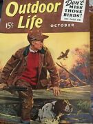 Vintage Outdoor Life Magazine October 1940 Mint Condition Jack O'connor Article