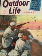 Vintage Outdoor Life Magazine Jan 1941 Mint Condition Jack O'connor Article