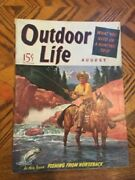 Vintage Outdoor Life Magazine Sept 41 Mint Condition Jack O'connor Article