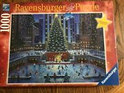 Ravensburger Nyc Christmas 1000 Piece Puzzle New Hard To Find