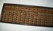 Antique Japanese Wooden Abacus Soroban Calculator 1850-1930