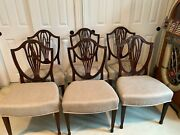 Set Of Six Dining Chairs English Regency Or George Iii Early 18th Century C 1790